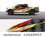 truck and vehicle graphic decal ... | Shutterstock .eps vector #1142650919