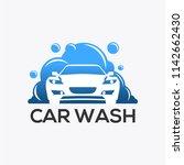 the car wash logo | Shutterstock .eps vector #1142662430