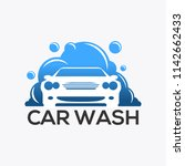 the car wash logo | Shutterstock .eps vector #1142662433