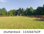 A Large Green Trimmed Lawn In ...
