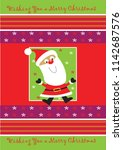 christmas card designs   Shutterstock .eps vector #1142687576