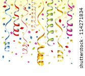 birthday background with... | Shutterstock .eps vector #114271834