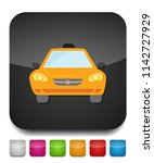 taxi icon  taxi icon vector ... | Shutterstock .eps vector #1142727929