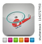 helicopter icon  vector copter  ... | Shutterstock .eps vector #1142727953