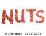 Inscription Nuts Of Peanuts ...