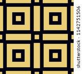 art deco pattern. seamless...   Shutterstock .eps vector #1142751506