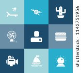 modern  simple vector icon set... | Shutterstock .eps vector #1142751956