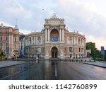 odesa ukraine   july 23  2018 ... | Shutterstock . vector #1142760899