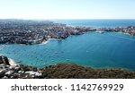 Small photo of Aerial view of Manly Beach, North Harbour and Tasman sea. View from Tania Park, Dobroyd Head (Sydney, Australia)