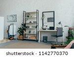 interior of modern living room... | Shutterstock . vector #1142770370