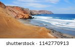 paracas national reserve where... | Shutterstock . vector #1142770913