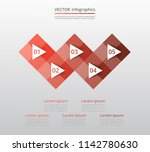 step by step infographic.... | Shutterstock .eps vector #1142780630