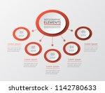 vector business template for... | Shutterstock .eps vector #1142780633