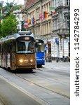 krakow cracow poland   17 june...   Shutterstock . vector #1142784293