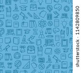 different network app icons... | Shutterstock .eps vector #1142809850