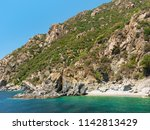 view of mountains from aegean... | Shutterstock . vector #1142813429