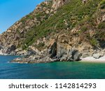 view of mountains from aegean... | Shutterstock . vector #1142814293