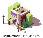vector isometric currency... | Shutterstock .eps vector #1142844476