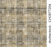 modern tweed  linen  seamless... | Shutterstock . vector #1142877206