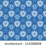 abstract kaleidoscope... | Shutterstock .eps vector #114288808