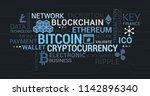 cryptocurrencies  blockchain... | Shutterstock .eps vector #1142896340