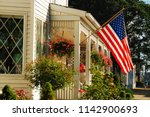 ocean grove  nj  usa july 2 ... | Shutterstock . vector #1142900693