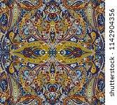 seamless paisley pattern | Shutterstock . vector #1142904356