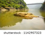 picturesque umngot river  dwaki ... | Shutterstock . vector #1142907323