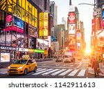 new york  usa   june 20  2018 ... | Shutterstock . vector #1142911613