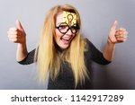 intellectual expressions  being ...   Shutterstock . vector #1142917289