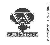 scuba diving logo for your... | Shutterstock .eps vector #1142920820