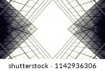 abstract architecture of... | Shutterstock . vector #1142936306