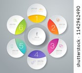 infographics design vector and... | Shutterstock .eps vector #1142962490