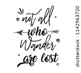 boho style with inspirational...   Shutterstock .eps vector #1142963720