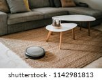 Robotic Vacuum Cleaner On The...