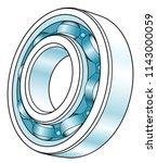 illustration of the volumetric... | Shutterstock .eps vector #1143000059