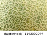 close up of cantaloupe melon... | Shutterstock . vector #1143002099