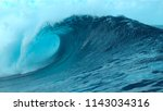 close up  picturesque large...   Shutterstock . vector #1143034316