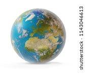 planet earth 3d illustration | Shutterstock . vector #1143046613