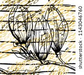 tropical  stripe  animal motif. ...   Shutterstock .eps vector #1143046760