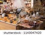 tel aviv  israel   june 9  2018 ...   Shutterstock . vector #1143047420