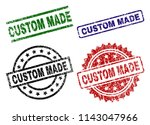 custom made seal prints with... | Shutterstock .eps vector #1143047966