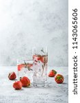 alcoholic or non alcoholic... | Shutterstock . vector #1143065606