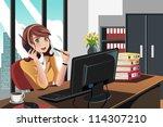 a vector illustration of a... | Shutterstock .eps vector #114307210