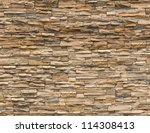 Old Brown Bricks Wall Pattern.