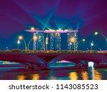 singapore   singapore   june 18 ...   Shutterstock . vector #1143085523