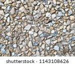 decorative small stone...   Shutterstock . vector #1143108626