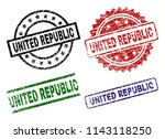 united republic seal prints... | Shutterstock .eps vector #1143118250