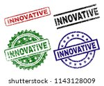 innovative seal prints with... | Shutterstock .eps vector #1143128009