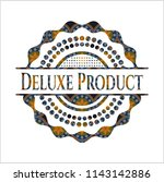 deluxe product arabic style... | Shutterstock .eps vector #1143142886